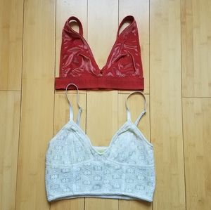 Free People/Victoria's Secret PINK Bra Bun…